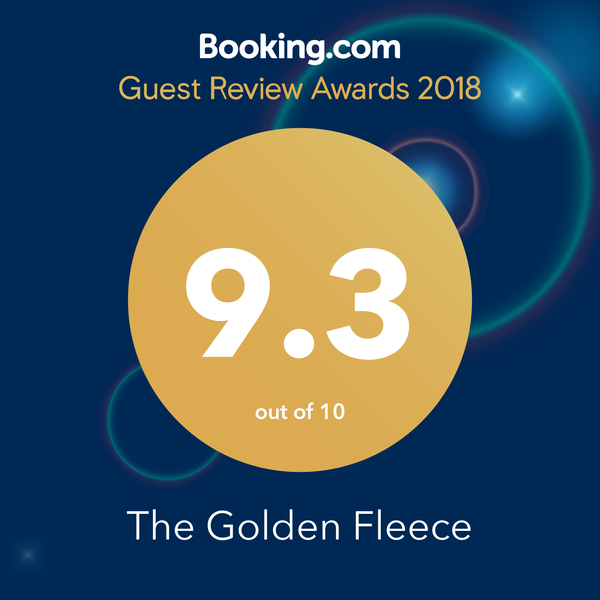 Bookings.com Guest review award 2018