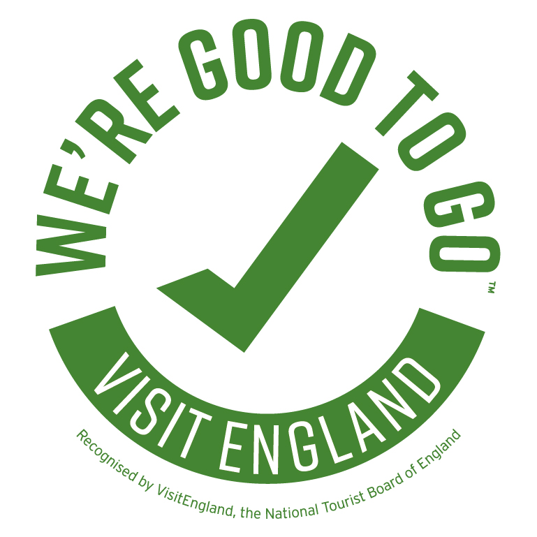 Good to Go Kite Mark from Visit England to certify Covid19 Secure